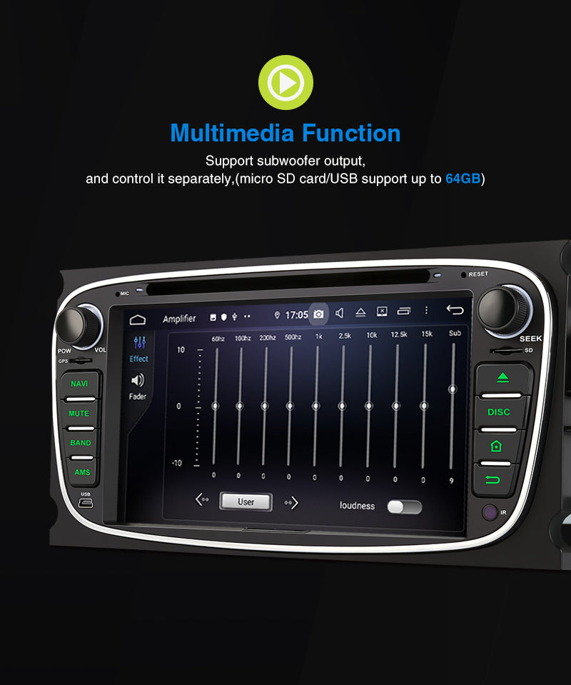 Ford multimedia car player