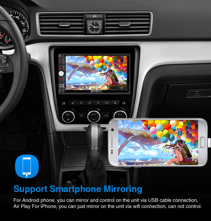 double din android 10 infotainment