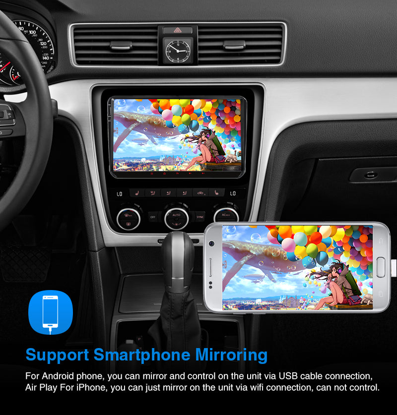 vw android double din