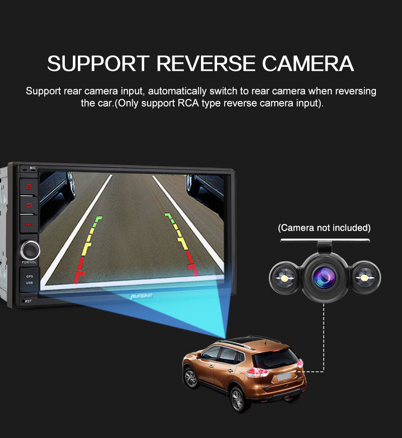 car stereo gps backup camera