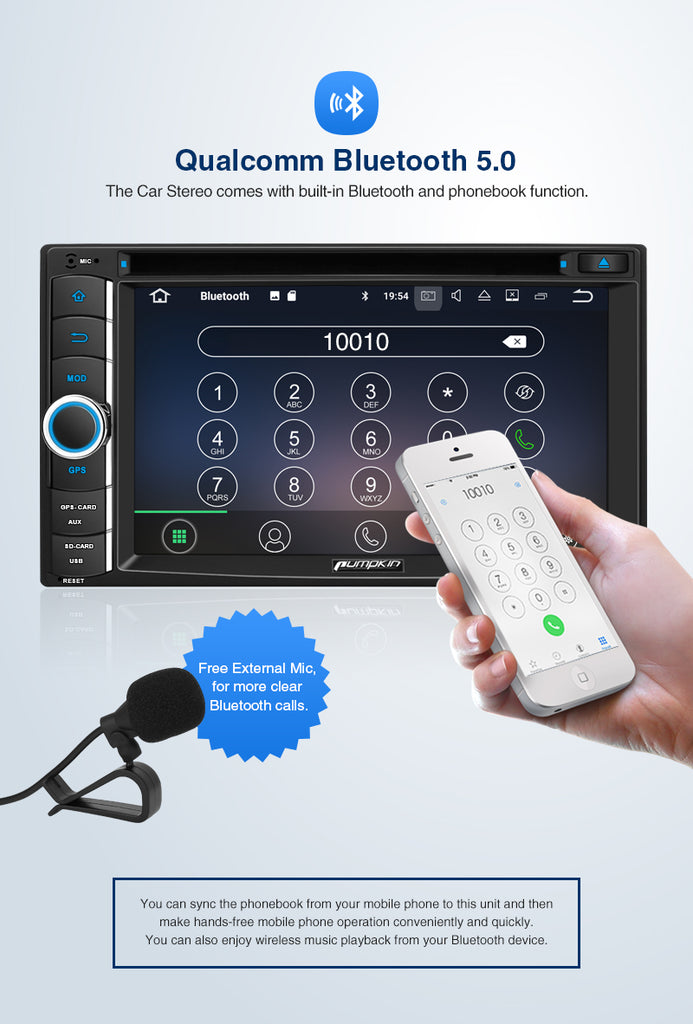 android car stereo mit Bluetooth