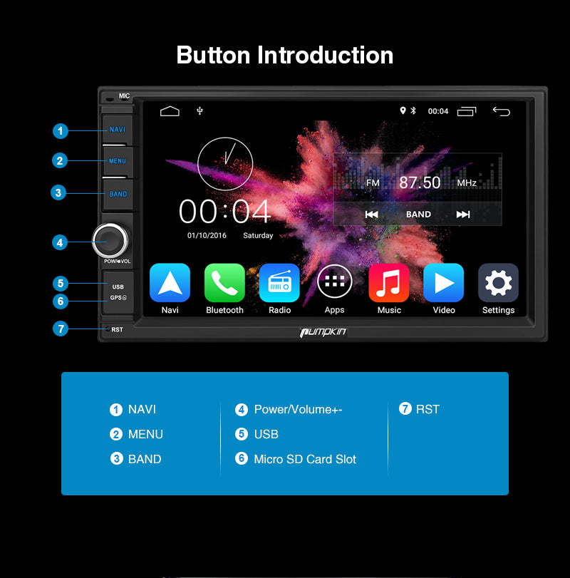 android 10 car head unit