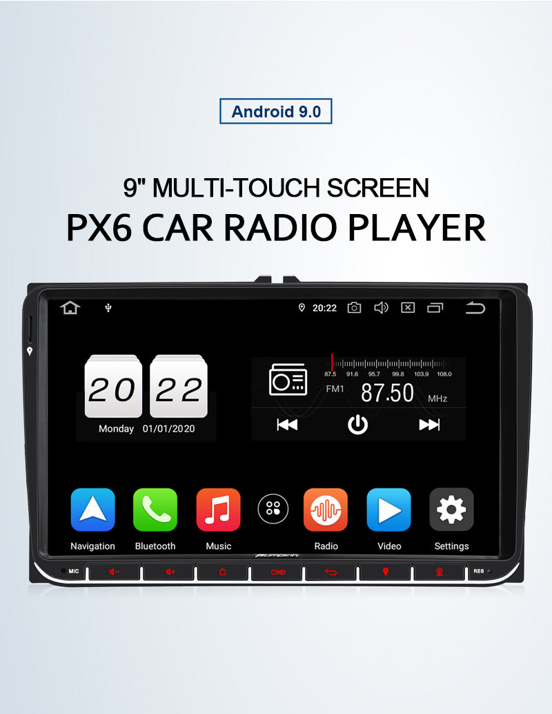 golf 5 car radio