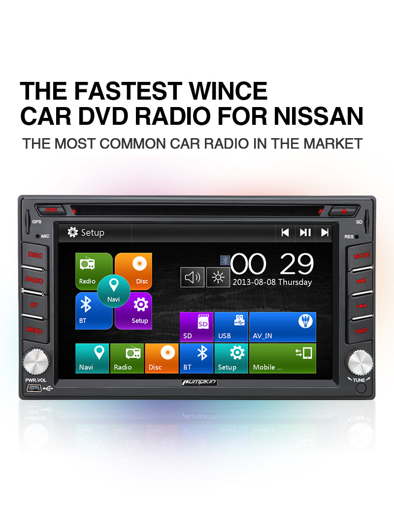 nissan car dvd player