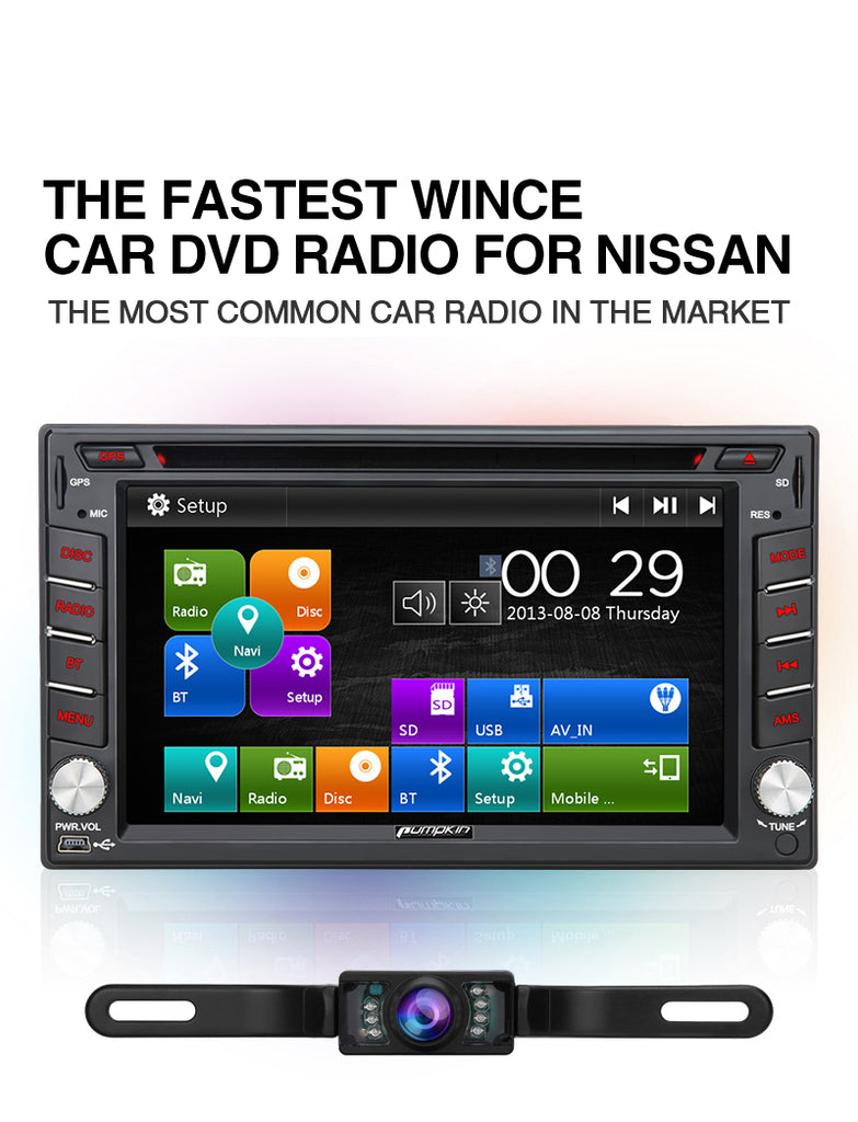 Car Audio Radio for Nissan Universal