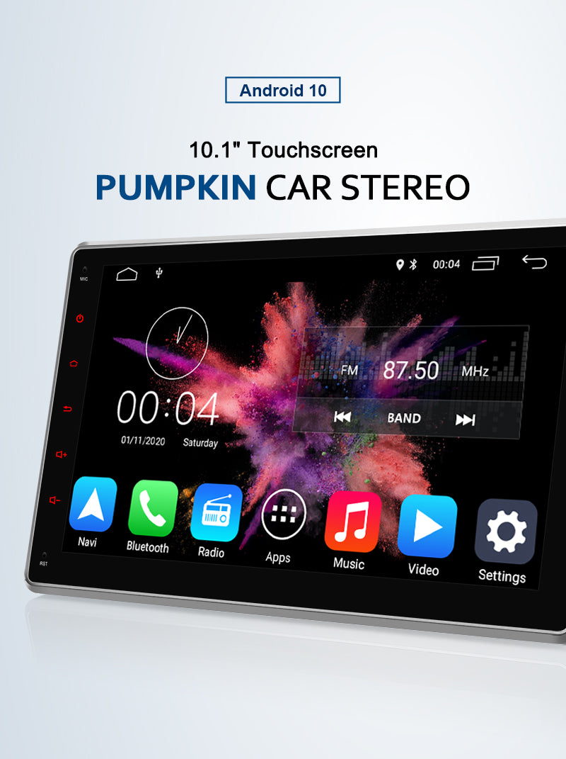 android 10 car stereo 1 din