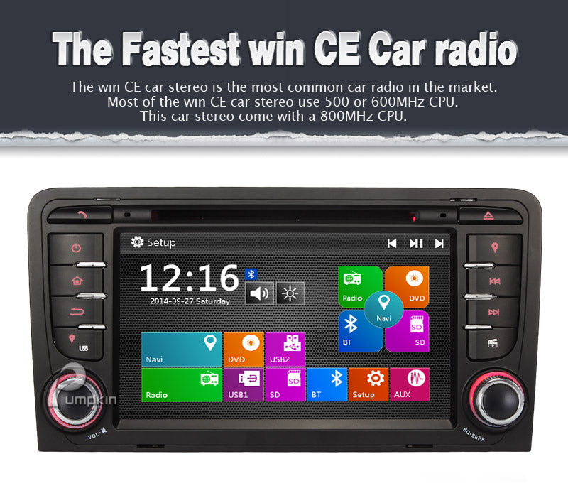 WinCe 6.0 car stereo for Audi