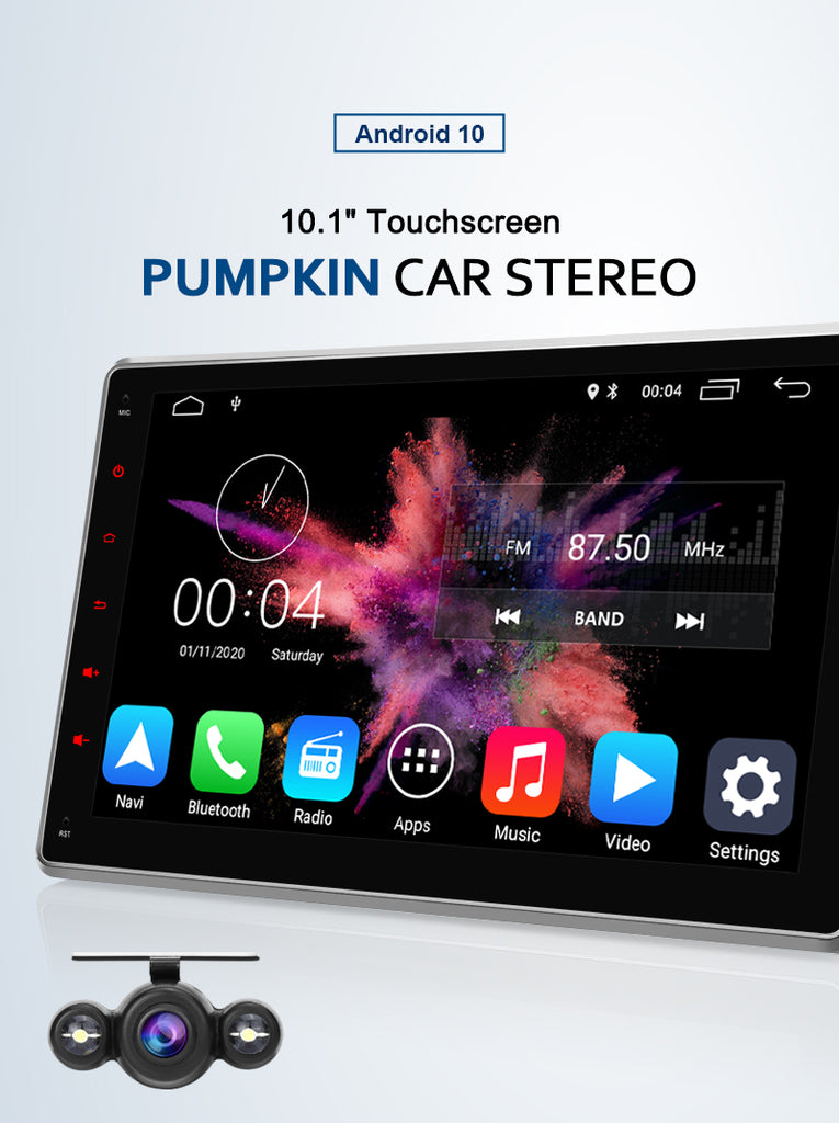 Pumpkin 10.1 Inch IPS Screen