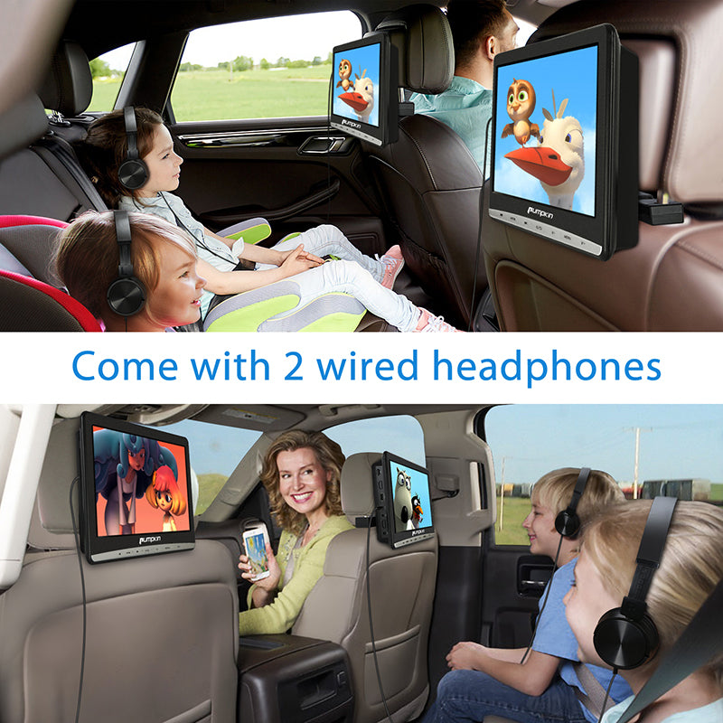 headrest dvd player for kid