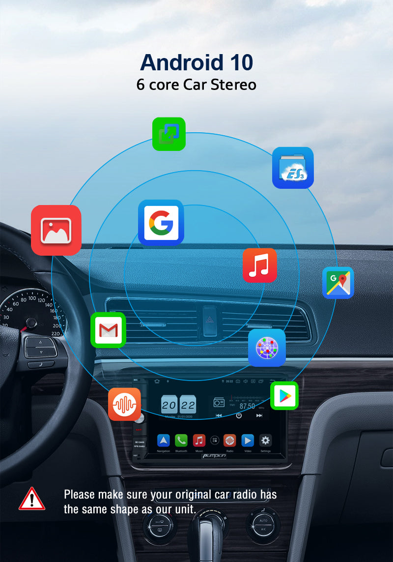 universal car radio android 10