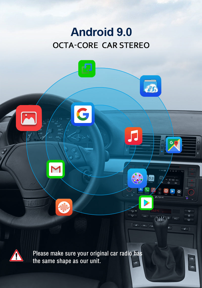 bmw android stereo