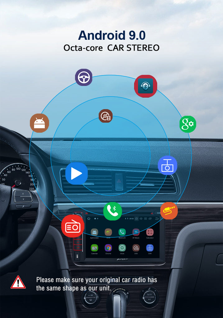 Android 9.0 Car Stereo DVD Player