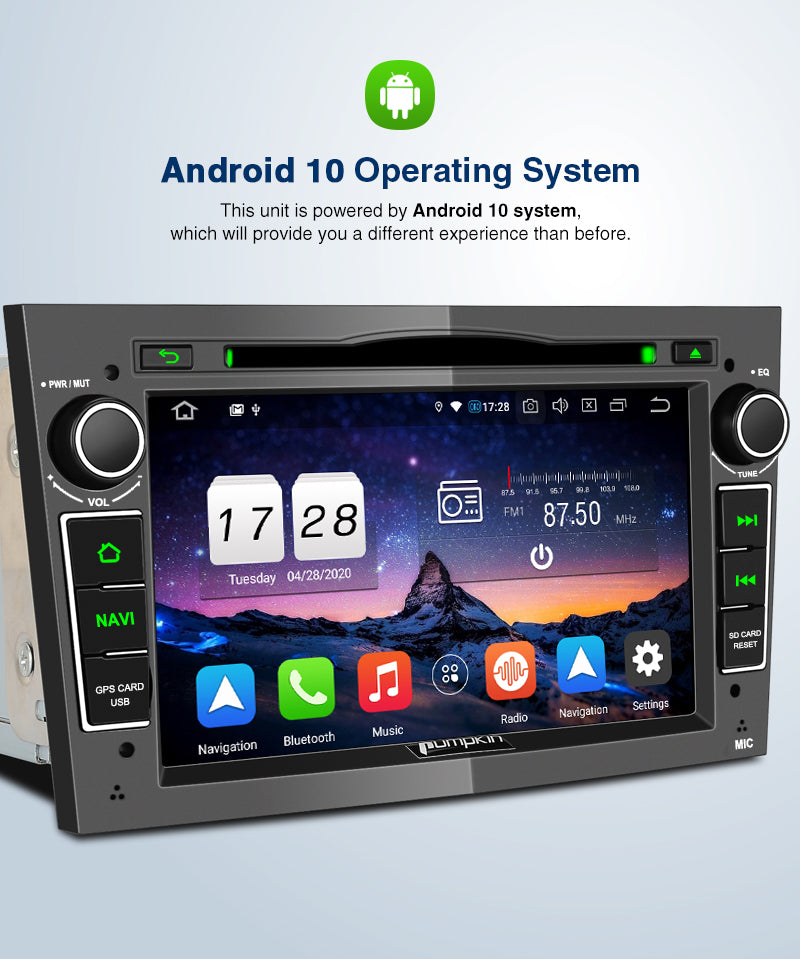 double din android 10 radios