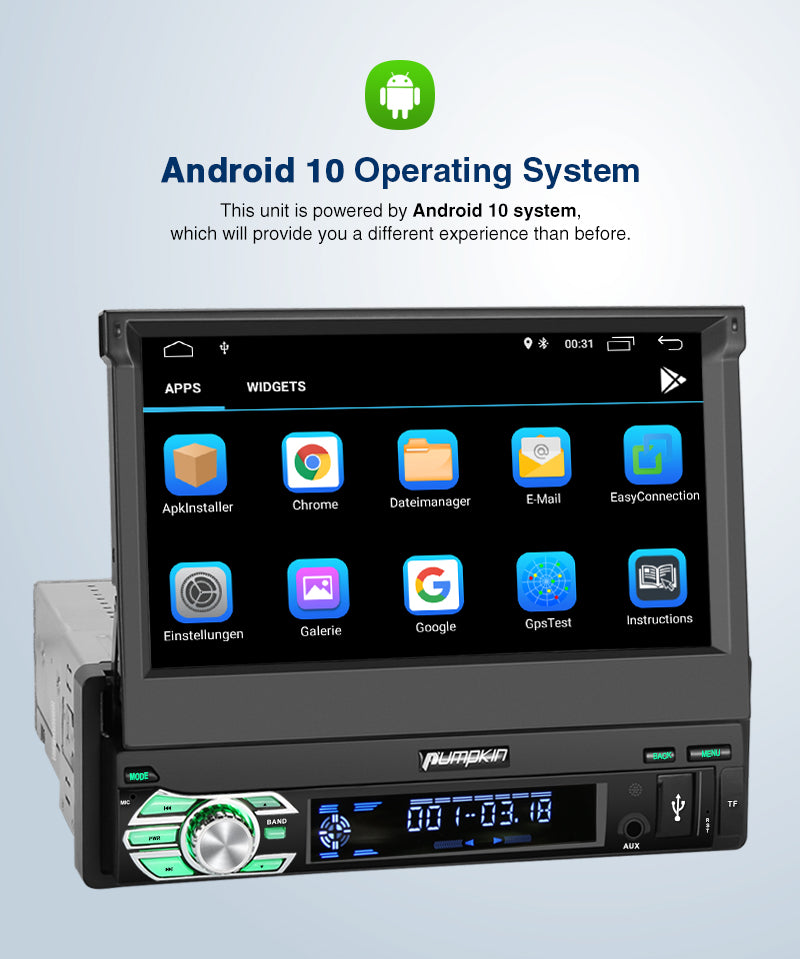 flip out car stereo with navigation and bluetooth