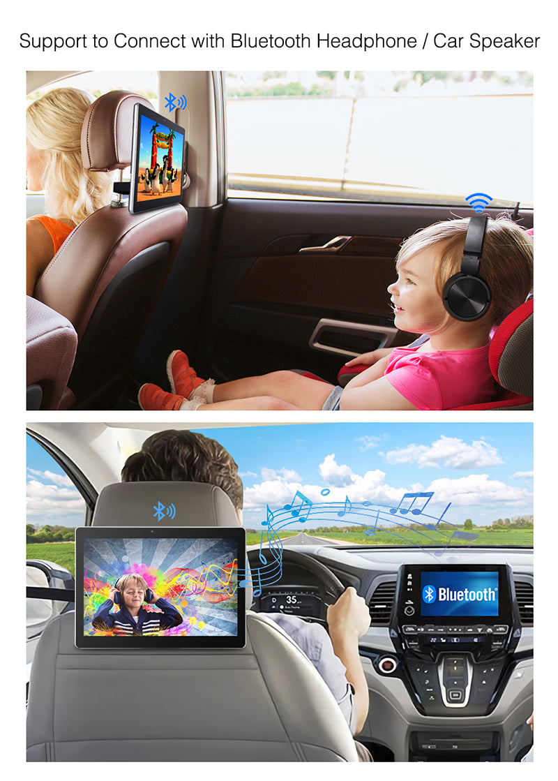 android headrest dvd player