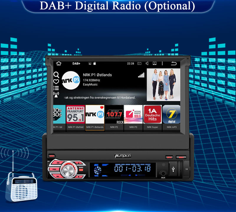 head unit single din android