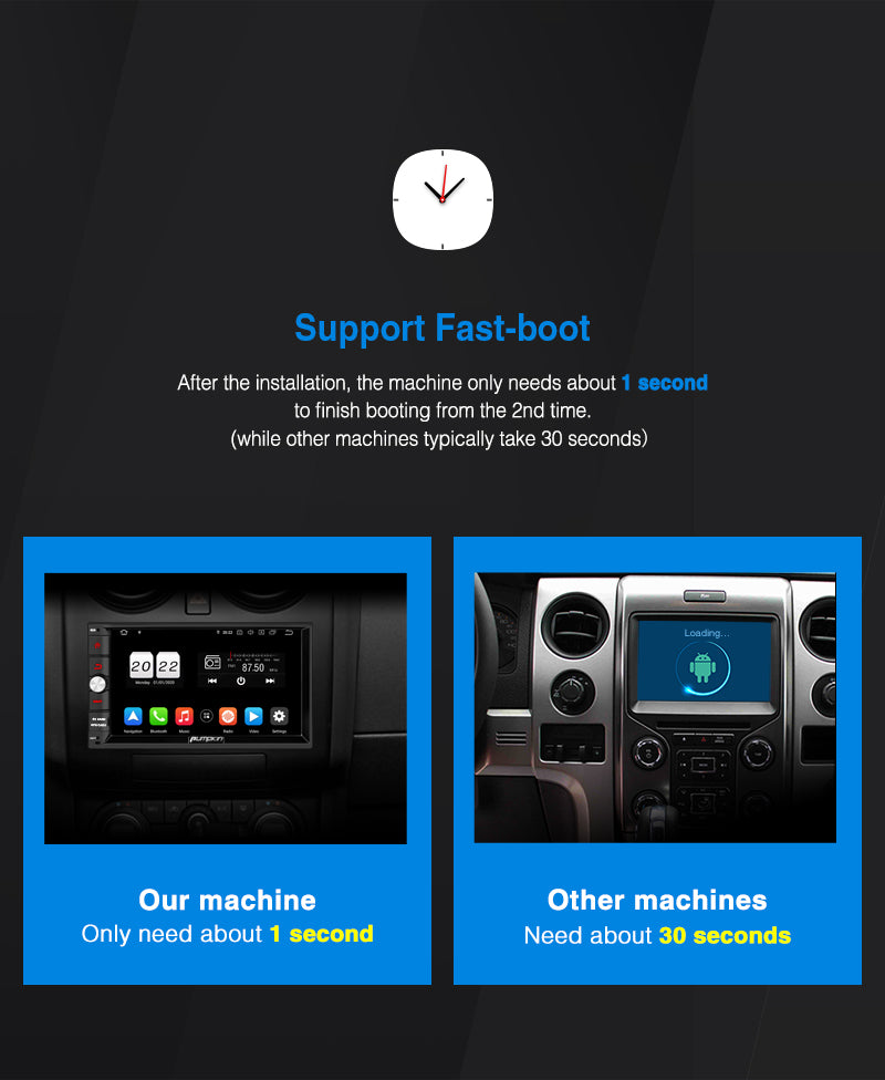 best 2 din android 10 car stereo