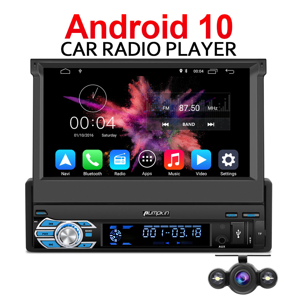 android 10 car radio with reverse camera