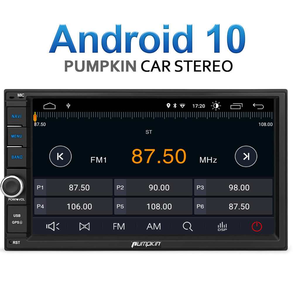 pumpkin car radio