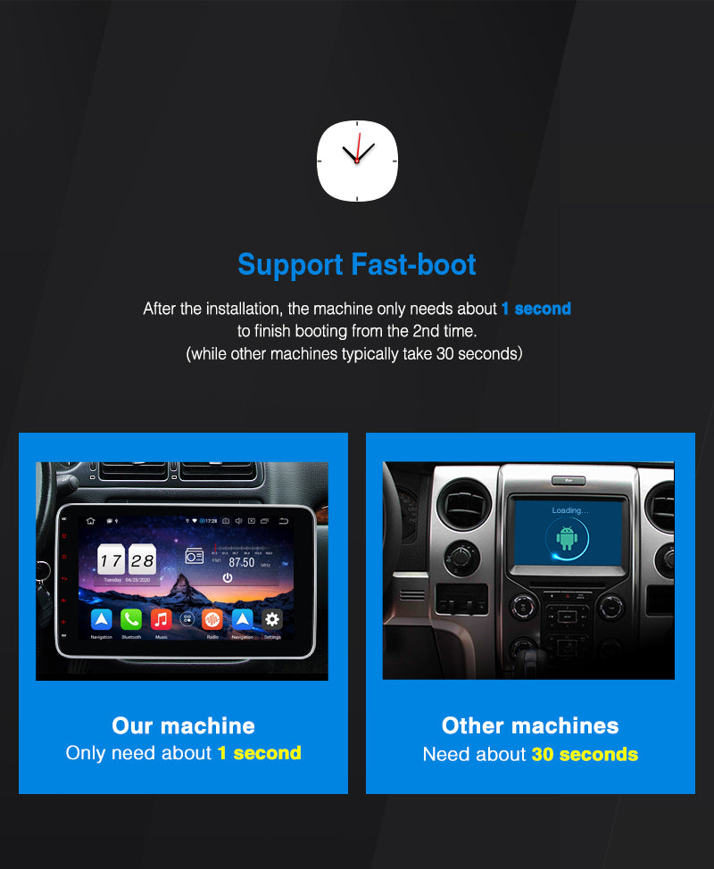 android 10 touch screen car stereo with bluetooth