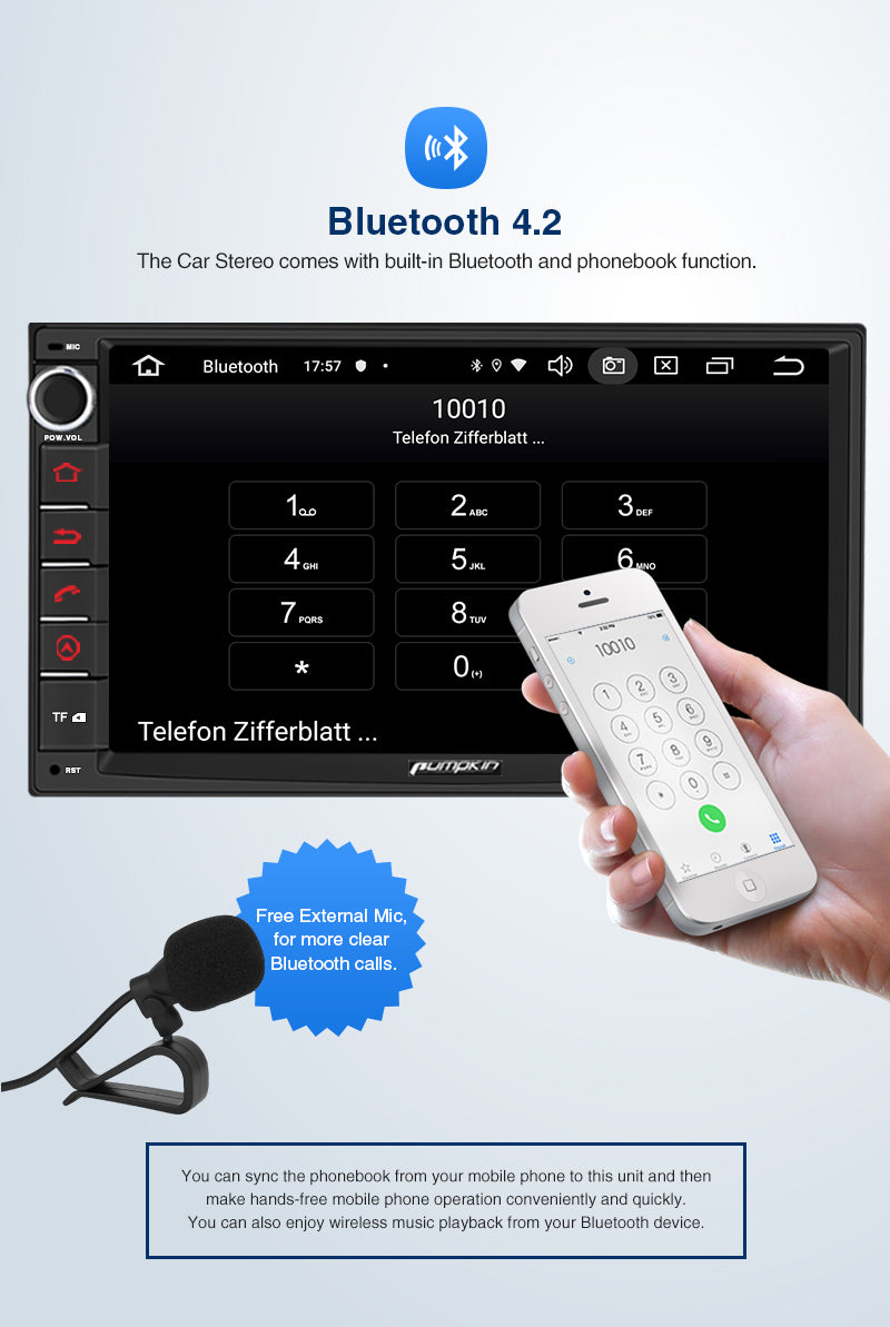 android 10 double din car radio
