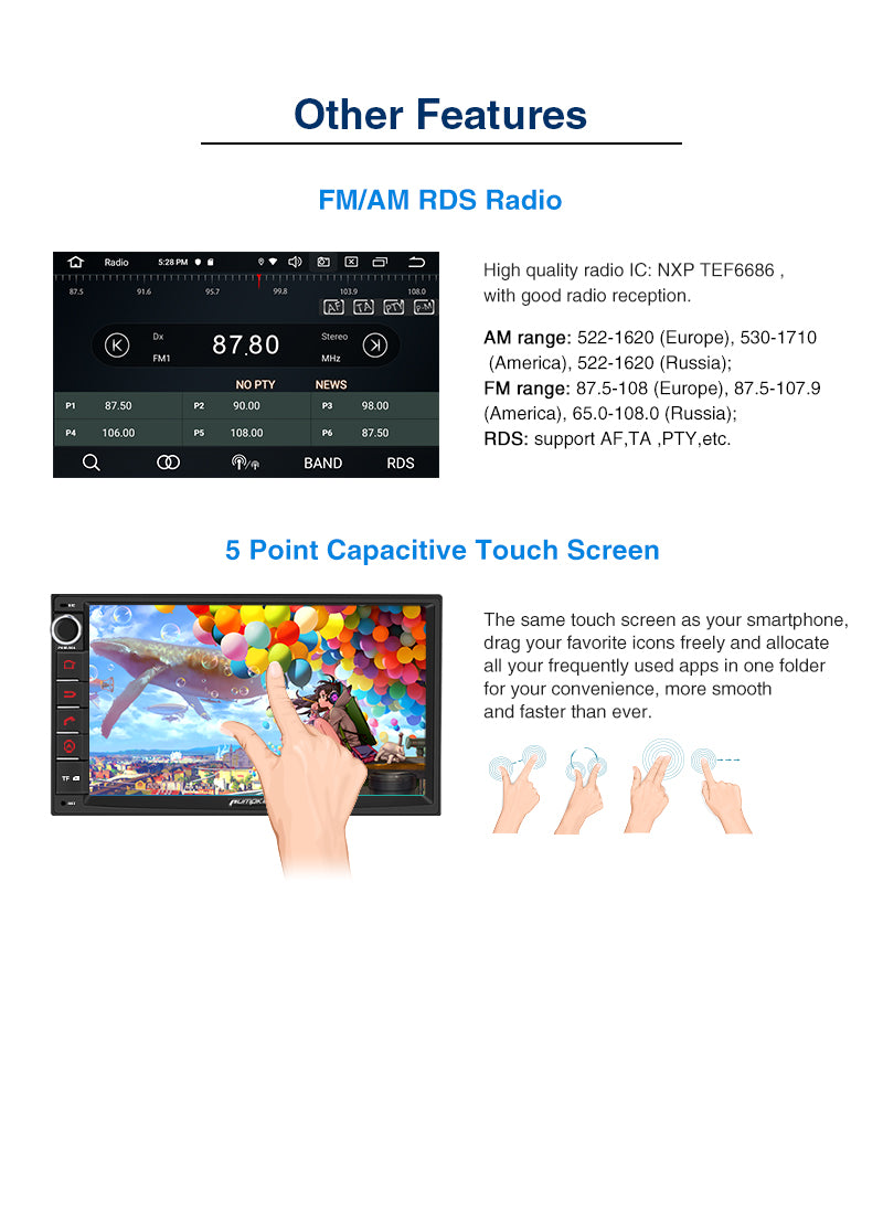 android 10 car radio with screen