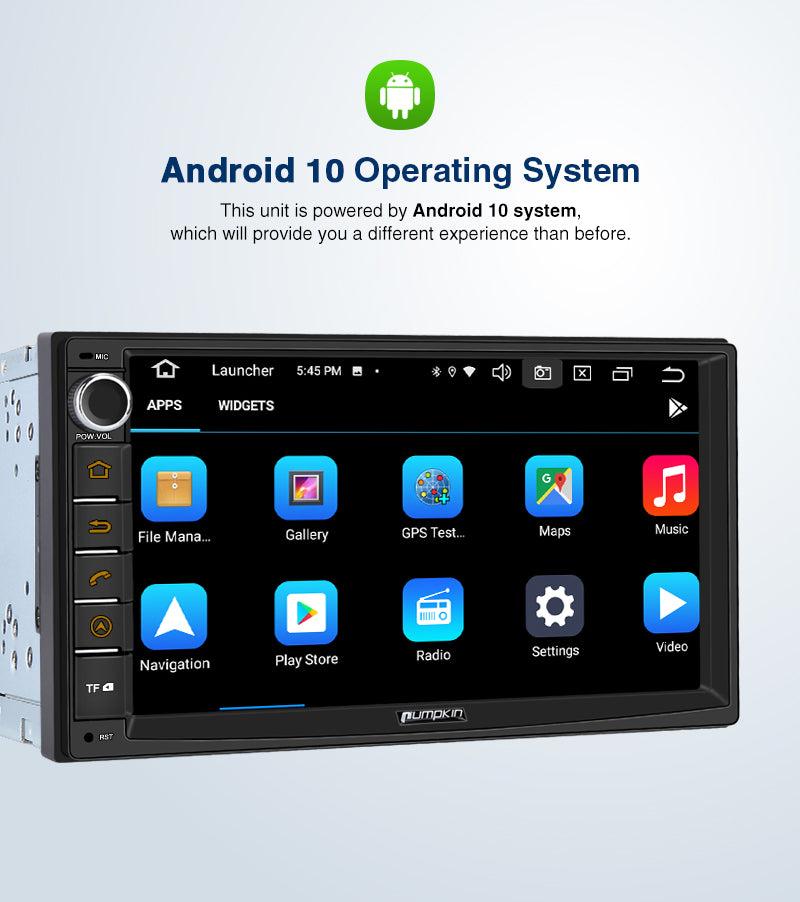 android 10 bluetooth car stereo