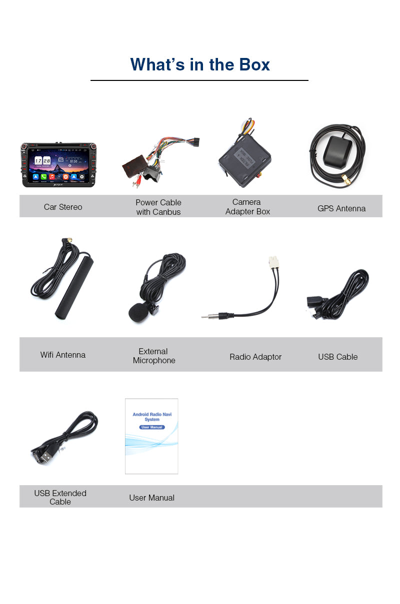 VW  2 din Android 10 car stereo