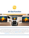 "Pumpkin Android Car Stereo 7"" Universal type with Built-in Bluetooth, Google map"