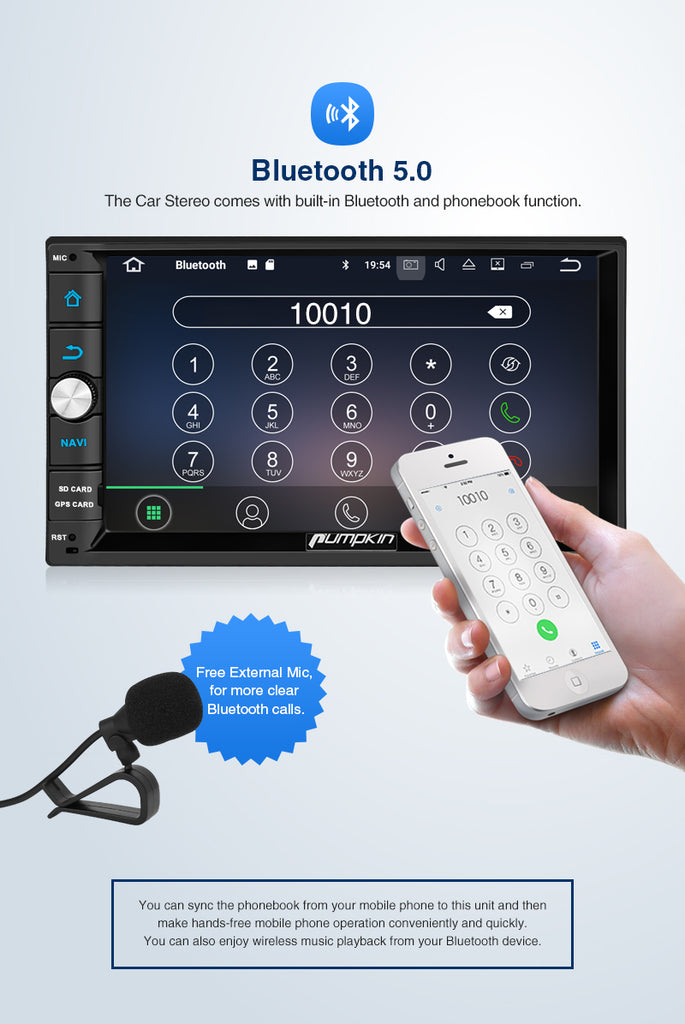 android touch screen car radio