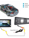 Car License Number Plate Rear View Reverse Camera Backup Camera with Night Vision IR LEDs
