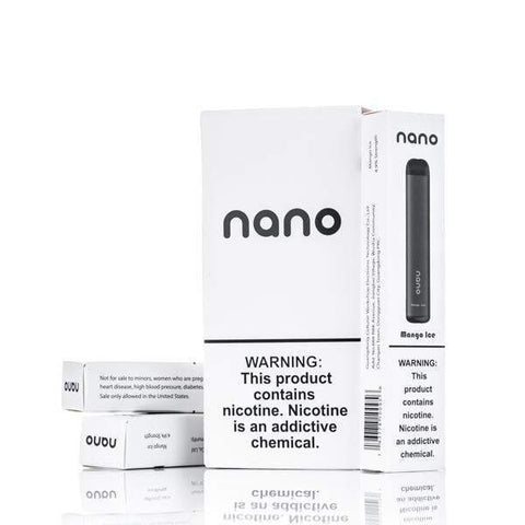 NANO DISPOSABLE PORTABLE POD SYSTEM