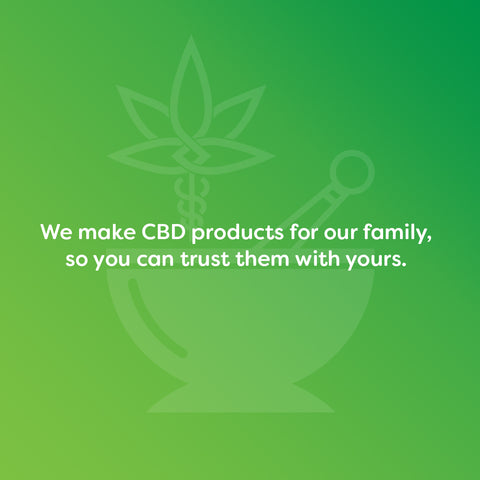 Wellness Garden Medicinals CBD for Pain and Anxiety Relief Logo & Tagline