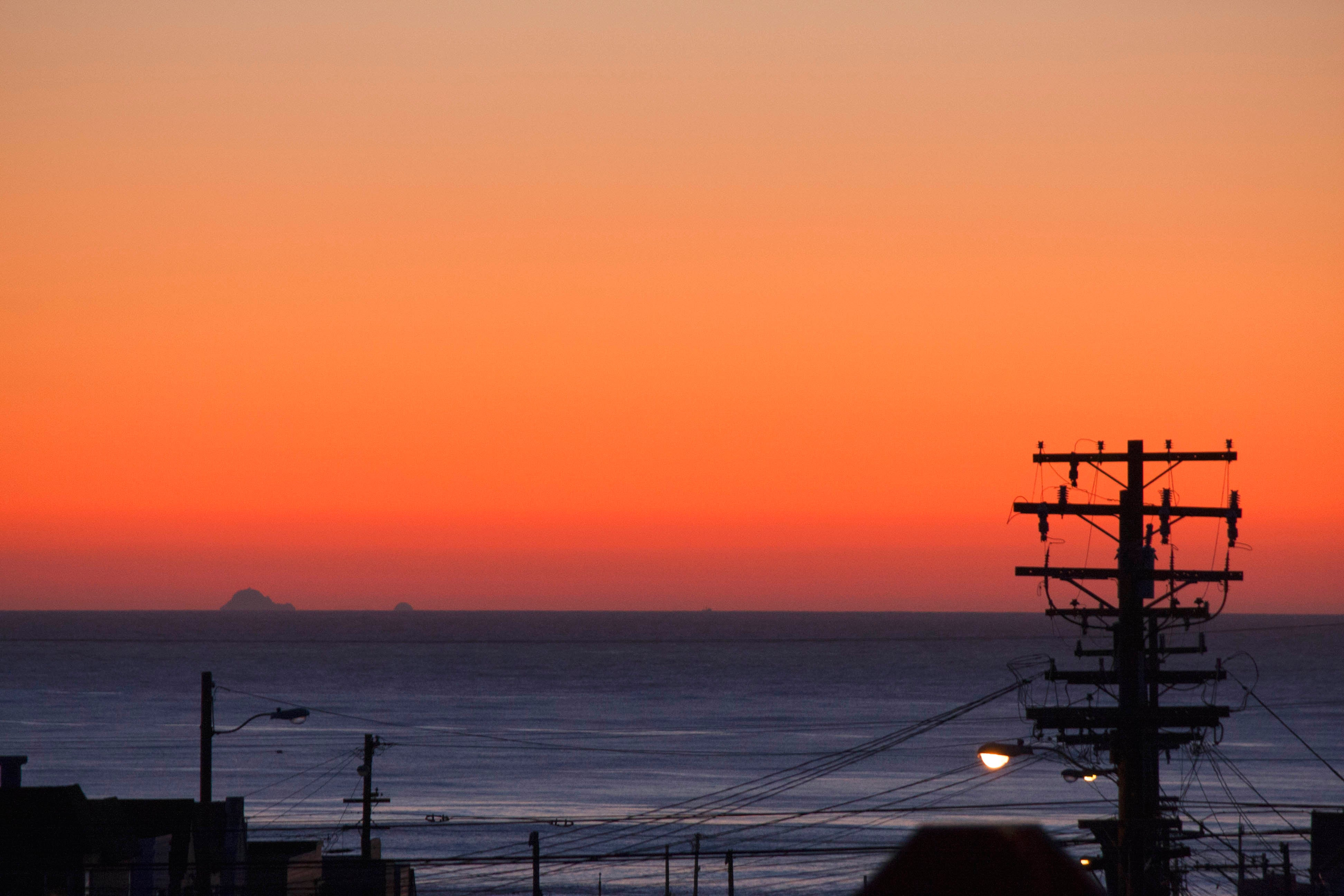 View of the Outer Sunset neighborhood of San Francisco
