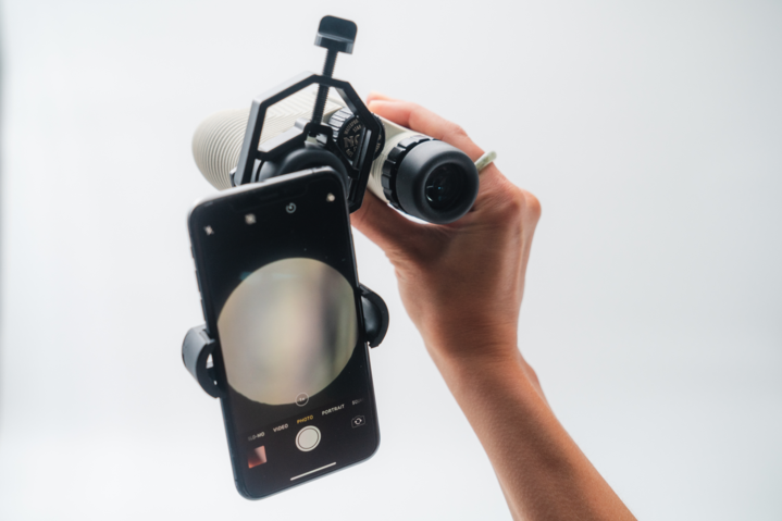 Photo Rig Black Photo Rig Smartphone Adapter For Binoculars product image #1