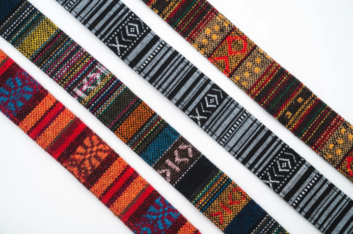 Black/White Woven Tapestry Strap product image #4