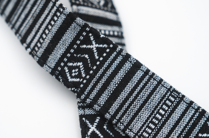 Black/White Woven Tapestry Strap product image #2