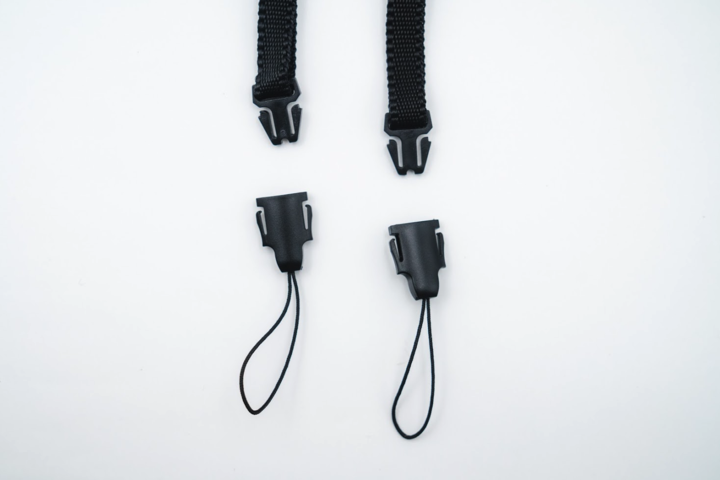 Black/White Woven Tapestry Strap – F product image #3