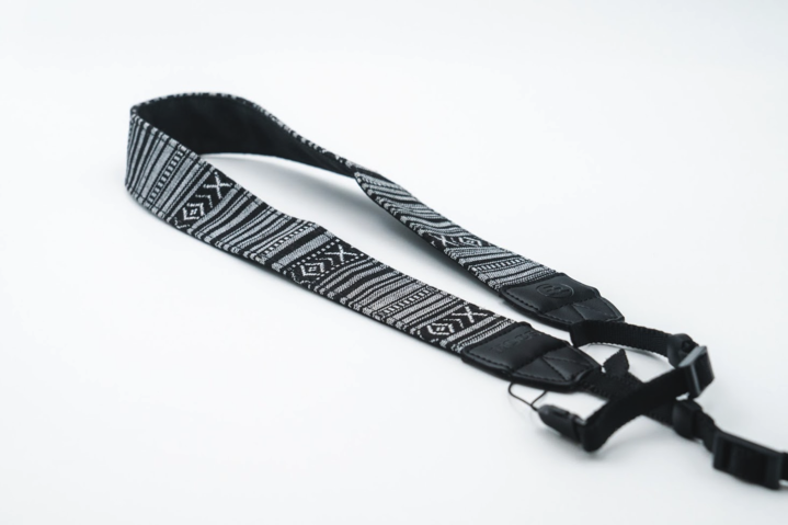 Black/White Woven Tapestry Strap – C product image #1