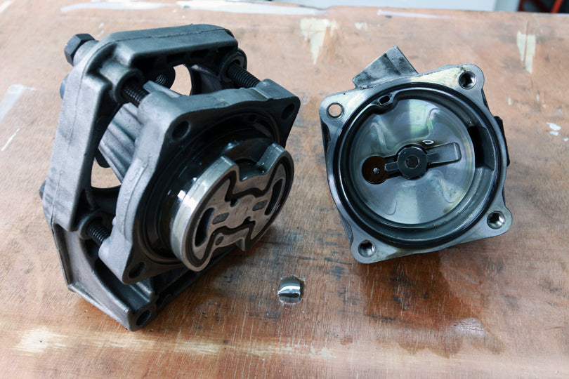 BMW E36 M3 power steering pump seal replacement