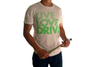 Live Love Drive Tee (Lime on White)