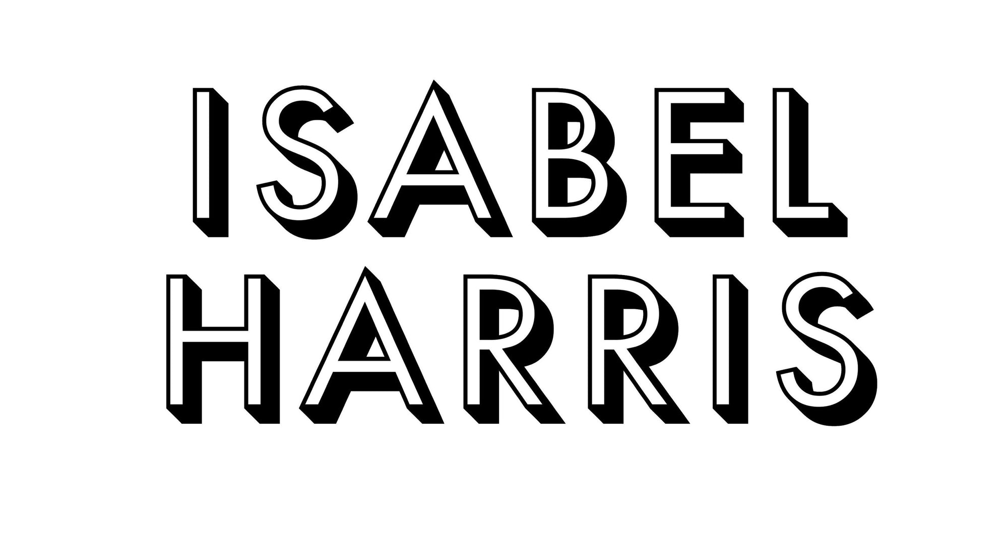 Isabel Harris logo luxury bathroom and candle store