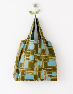 Vintage Cotton Shopper Bag - available in three prints - Isabel Harris