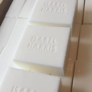 Isabel Harris Frangipani Soap 4x 150gm bars unwrapped - Isabel Harris