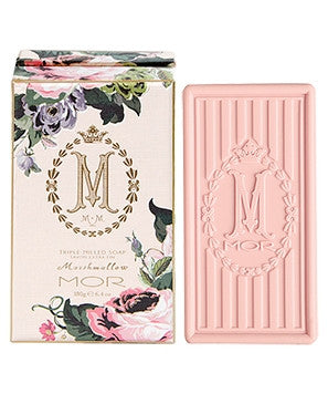 Mor Marshmallow Triple-Milled Boxed Soap - Isabel Harris