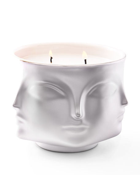 Jonathan Adler Muse D'Or candle Silver