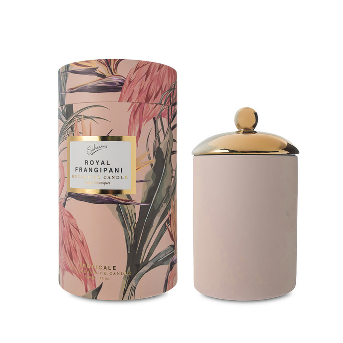 Sohum Tropical Candle Pink Frangipani - Isabel Harris