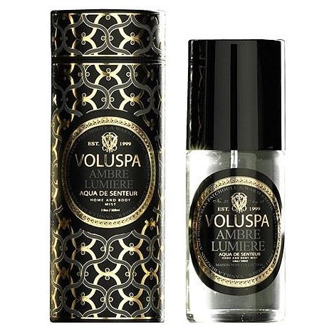 Voluspa Home and Body Spray Amber Lumiere