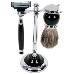 Comoy Shave Set - Black - Isabel Harris