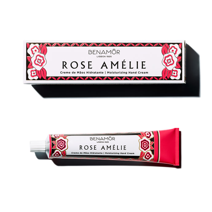 Benamor Hand Cream Rose Amelie 50ml - Isabel Harris